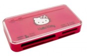 Saitek Hello Kitty 53-in-1 Kartenleser pink