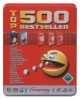 500 Top Bestseller Games in Metallbox