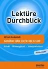 Alfred Andersch Sansibar oder der letzte Grund Inhalt - Hintergrund - Interpretation (Lektüre Durchblick Deutsch)
