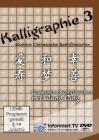 Kalligraphie - weitere chinesische Schriftzeichen Teil 3