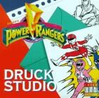 Power Rangers Druckstudio - 250 Bilder für 17 verschiedene Objekte