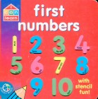 Stencil Board Books First Numbers With Stencil Fun