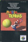 N64 Mario Tennis Spieleanleitung