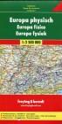 Europa physisch Euroserie. Autokarte. 1  3 500 000.