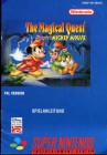 "Super Nintendo Spielanleitung "" The Magical Quest Starring Mickey Mouse """