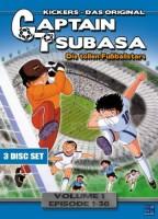 Captain Tsubasa - Die tollen Fußballstars Volume 1 Episode 01-30 (3 DVDs)