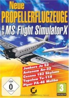 Flight Simulator X - Neue Propellerflugzeuge