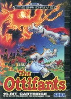 The Ottifants - Megadrive - PAL