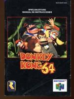 """Nintendo 64 Spielanleitung """"Donkey kong 64"""""""