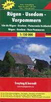 Freytag Berndt Autokarten, Rügen - Usedom - Vorpommern 1150.000 (freytag & berndt Auto + Freizeitkarten)