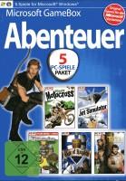 Microsoft GameBox 5 Abenteuer auf DVD-ROM