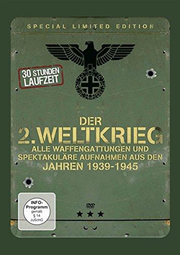 Der 2. Weltkrieg - Alle Waffengattungen und spektakuläre Aufnahmen aus den Jahren 1939-1945 (Special Limited Edition) [6 DVDs]
