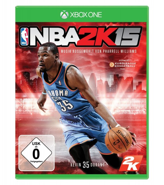 nba 2k15 xbox one gebraucht ebay. Black Bedroom Furniture Sets. Home Design Ideas